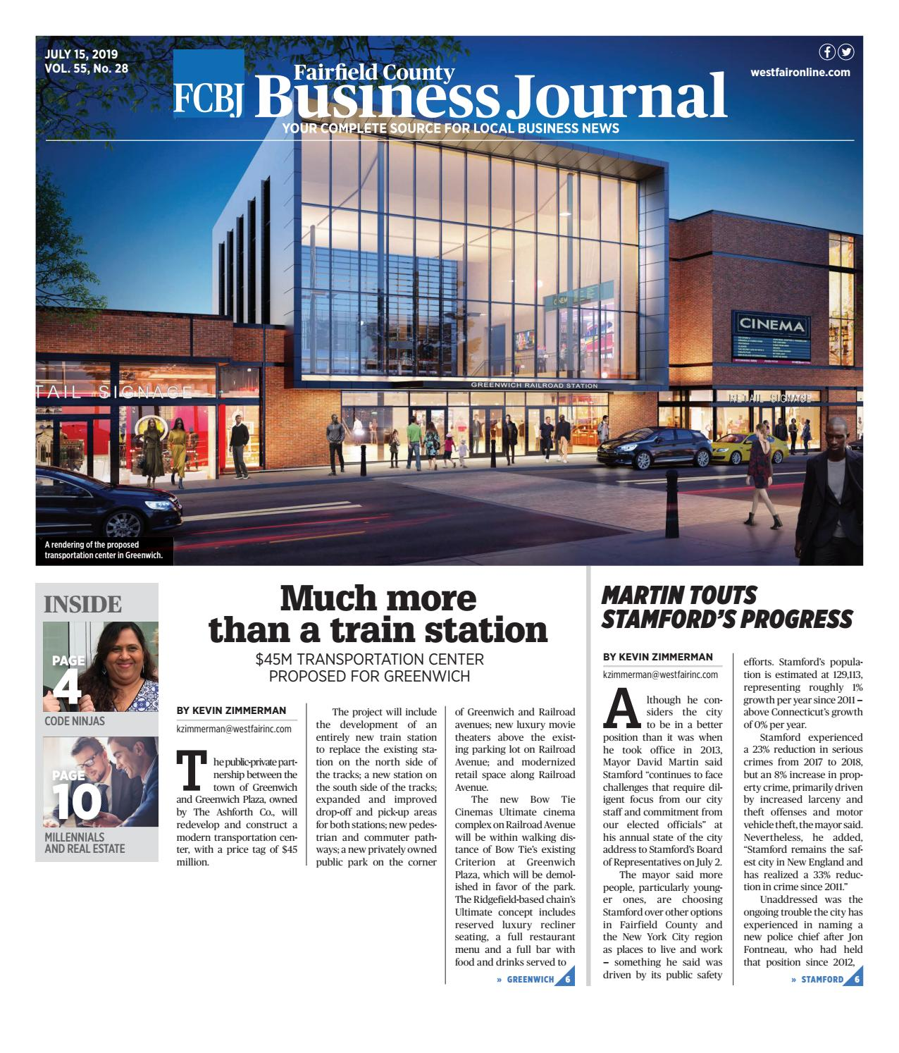 Fairfield County Business Journal 071219 By Wag Magazine Issuu