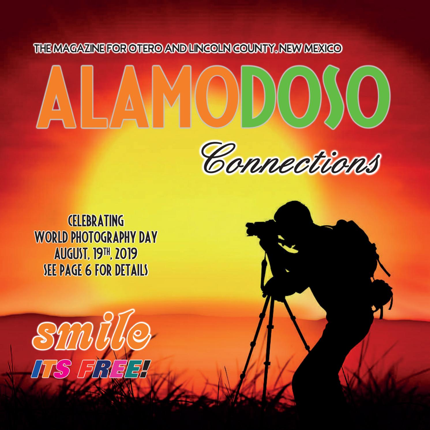 July / August issue of Alamodoso Connections Magazine by