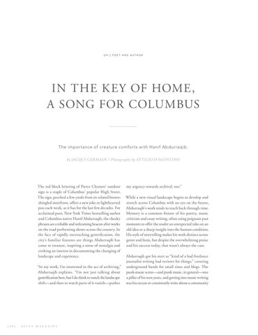 Page 22 of In the Key of Home, a Song for Columbus