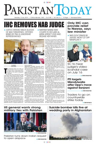 E-Paper PDF 13 July (ISB) by Pakistan Today - issuu