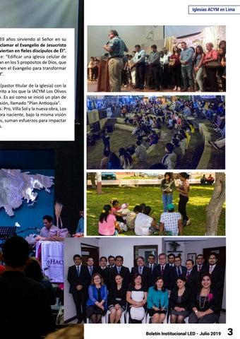 Page 3 of Boletín LED Edición Julio