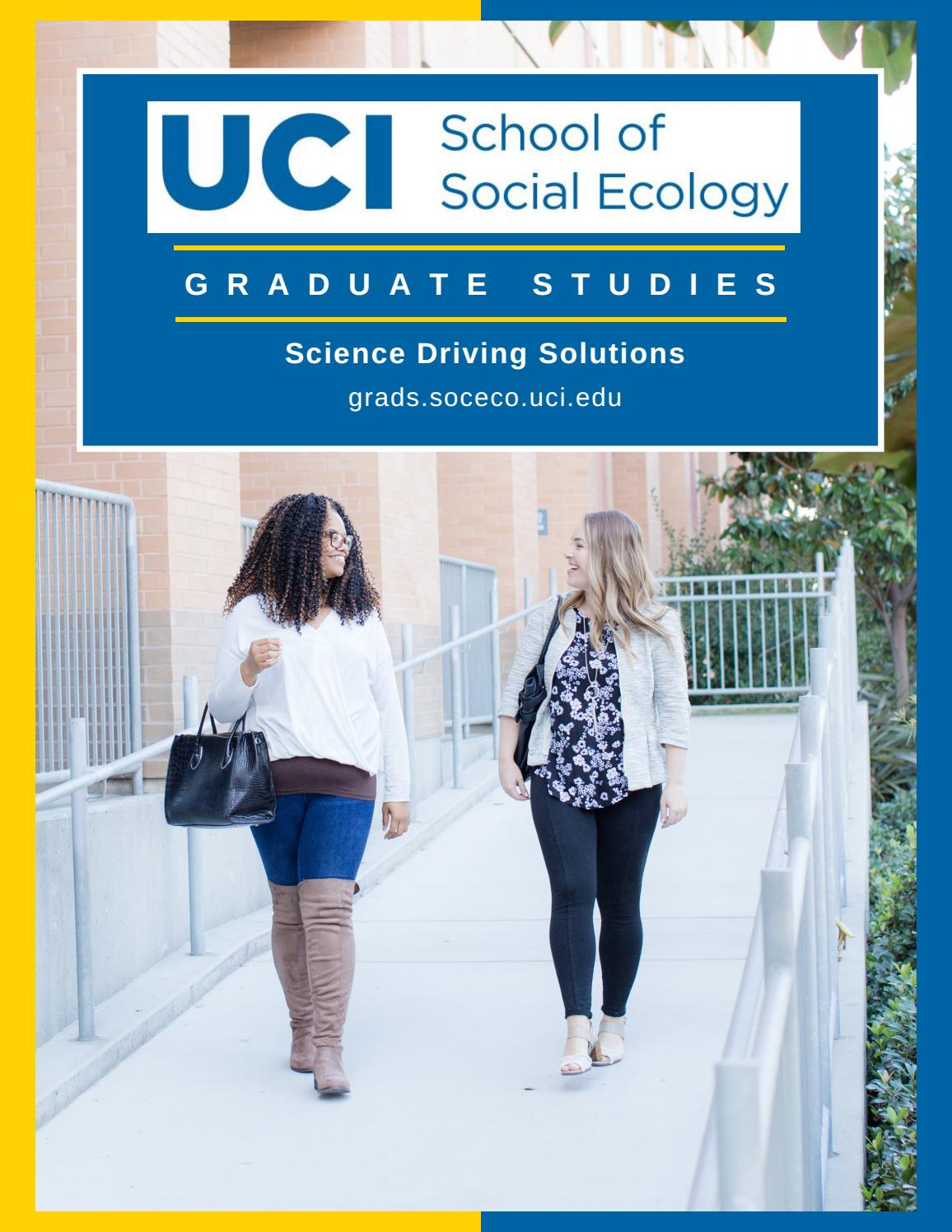 Uci Graduation 2020.Uci Social Ecology Graduate Studies 2020 By University Of
