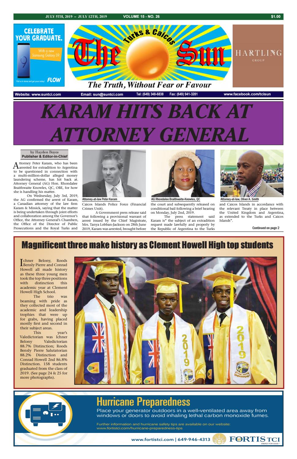 VOLUME 15 ISSUE 26 by The SUN Newspaper - issuu
