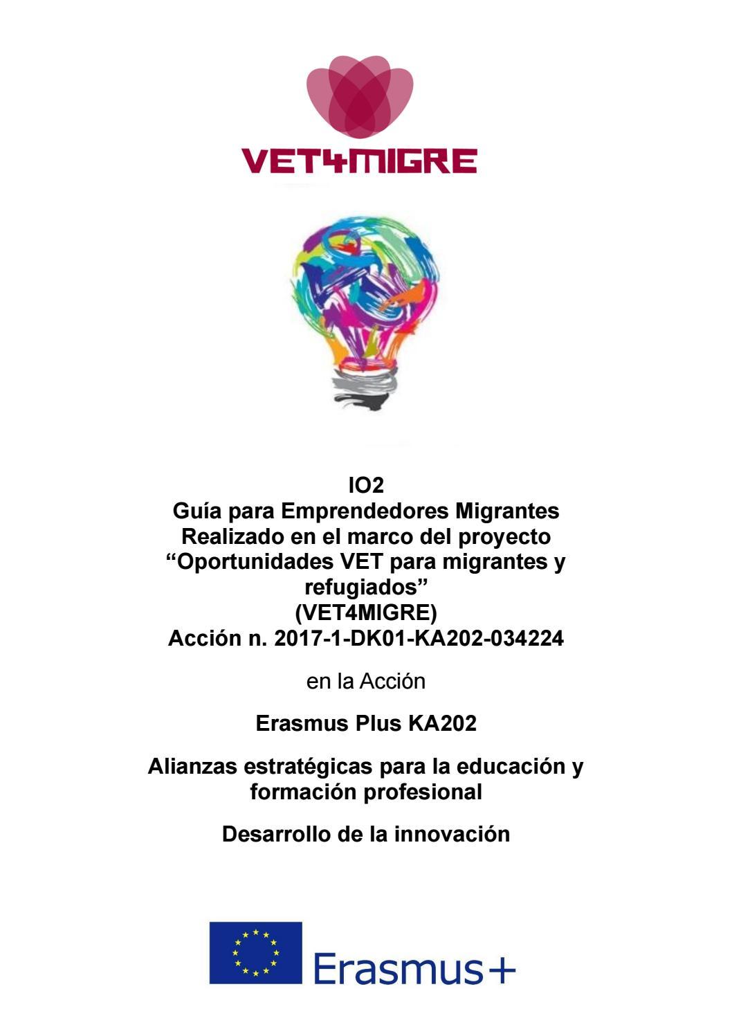 Io2 Guía Para Emprendedores Migrantes By Lora Abadjieva Issuu