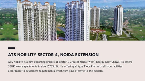 Page 2 of ATS Nobility 3BHK Apartment in Noida Extension