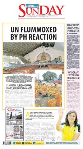 Manila Standard - 2019 July 14 - Sunday by Manila Standard - issuu