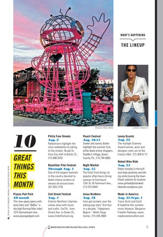 Page 7 of Top Things to Do in Philadelphia This August