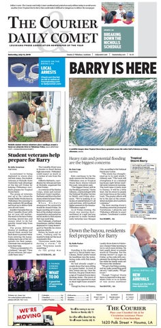 The Courier and Daily Comet: July 13, 2019 by The Courier