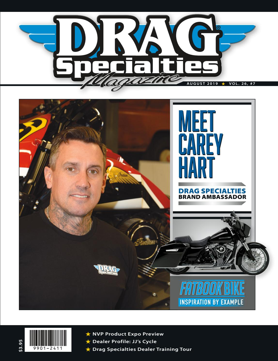 Drag Specialties Magazine - August 2019 by Drag Specialties