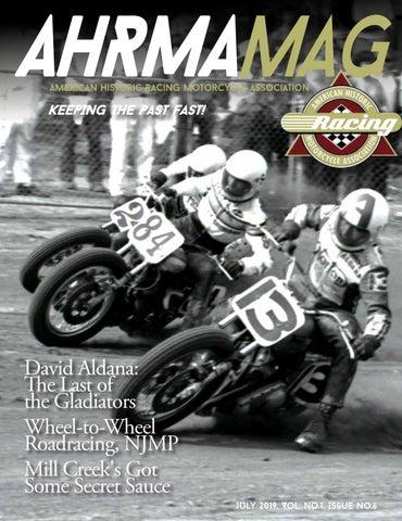 AHRMA Mag, Vol  No  1, Issue No  6 by ahrma - issuu