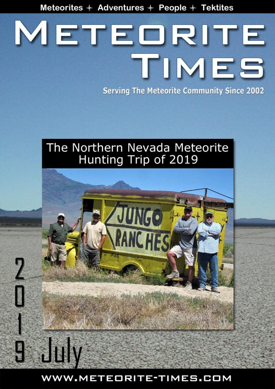 Meteorite Times Magazine by The Meteorite Exchange, Inc  - issuu