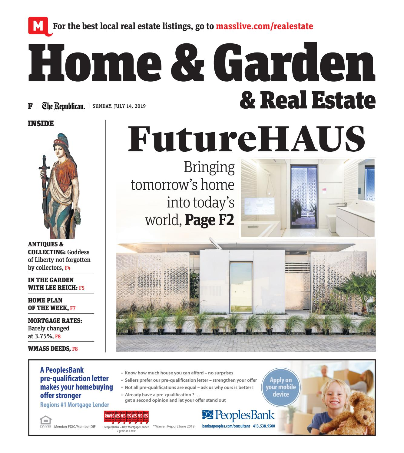 Home and Garden, and Real Estate- July 14, 2019 by repubnews ... Ranch House Floor Plans Dion S on