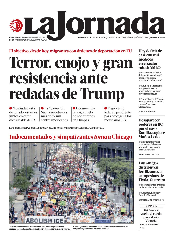 La Jornada, 07142019 by La Jornada issuu