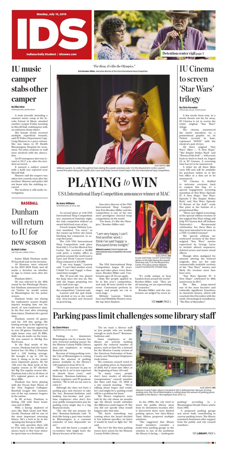 Monday, July 15, 2019 by Indiana Daily Student - idsnews - issuu