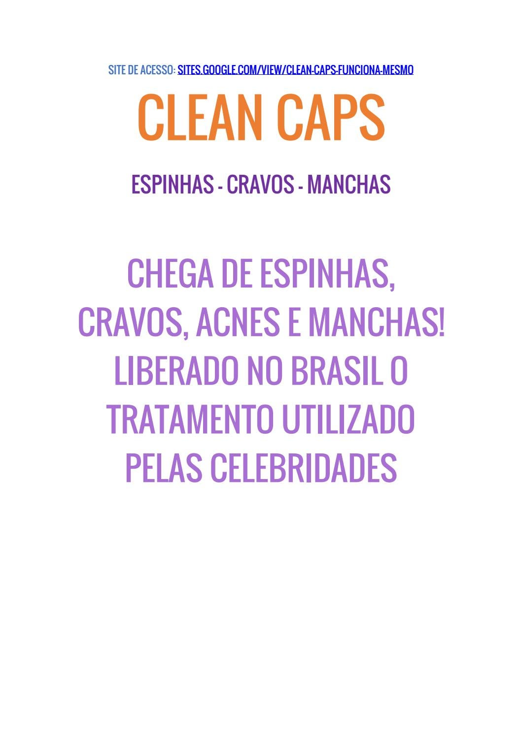 clean caps bula pdf