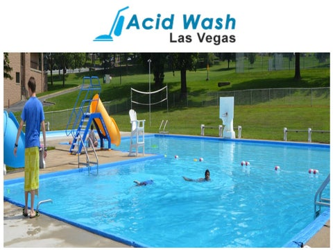 Pool Services In Las Vegas by acidwashlasvegas - issuu