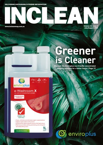 INCLEAN July-August 2019 by The Intermedia Group - issuu