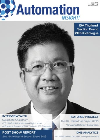 Automation INSIGHT! ISA Thailand Section Event 2019, Vol 7 Issue 5