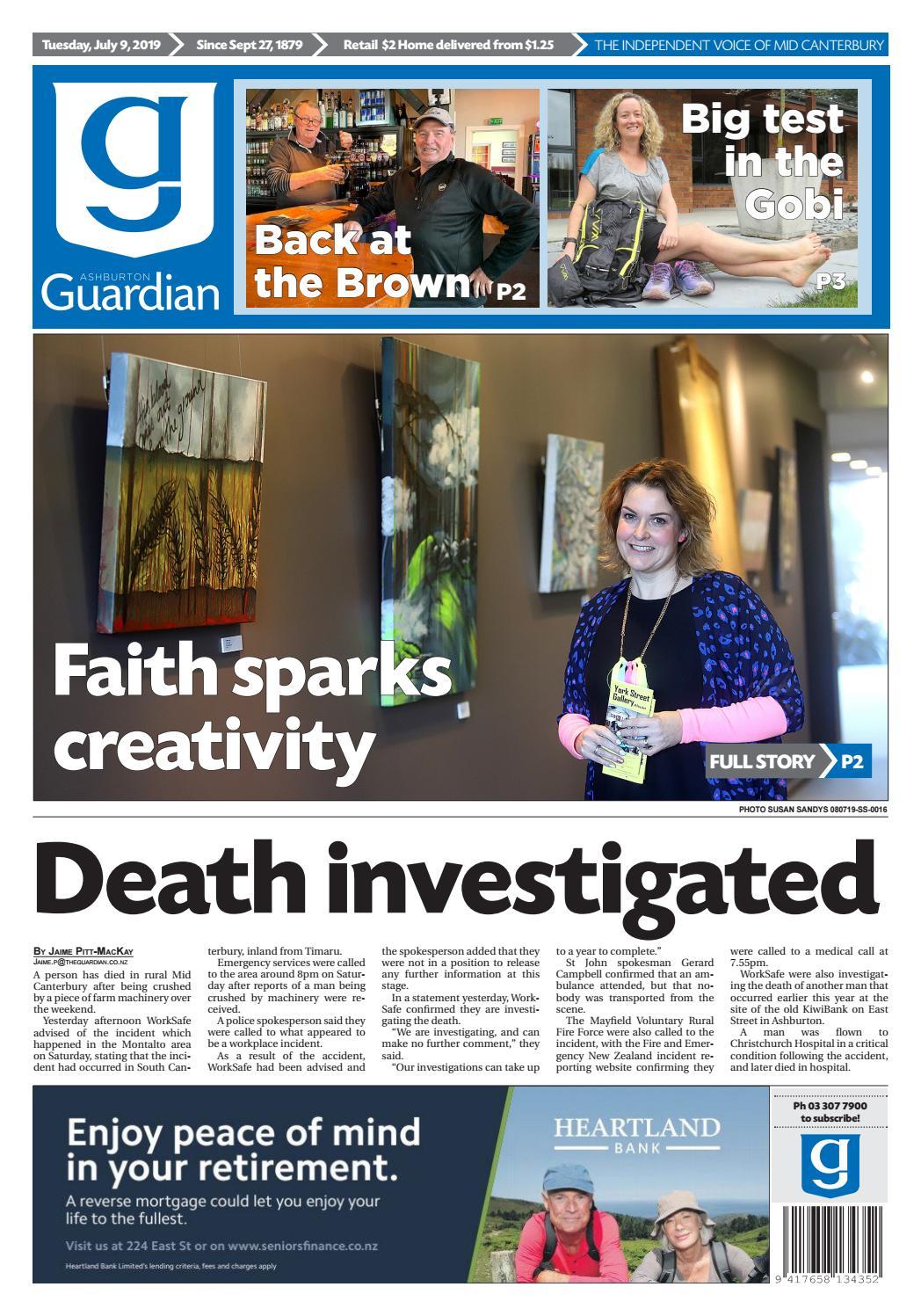 Ashburton Guardian, Tuesday, July 9, 2019