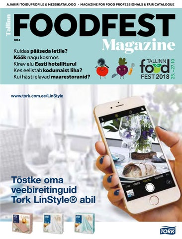 8df27e89378 Tallinn Foodfest Magazine 2018 by Menu Kirjastus - issuu