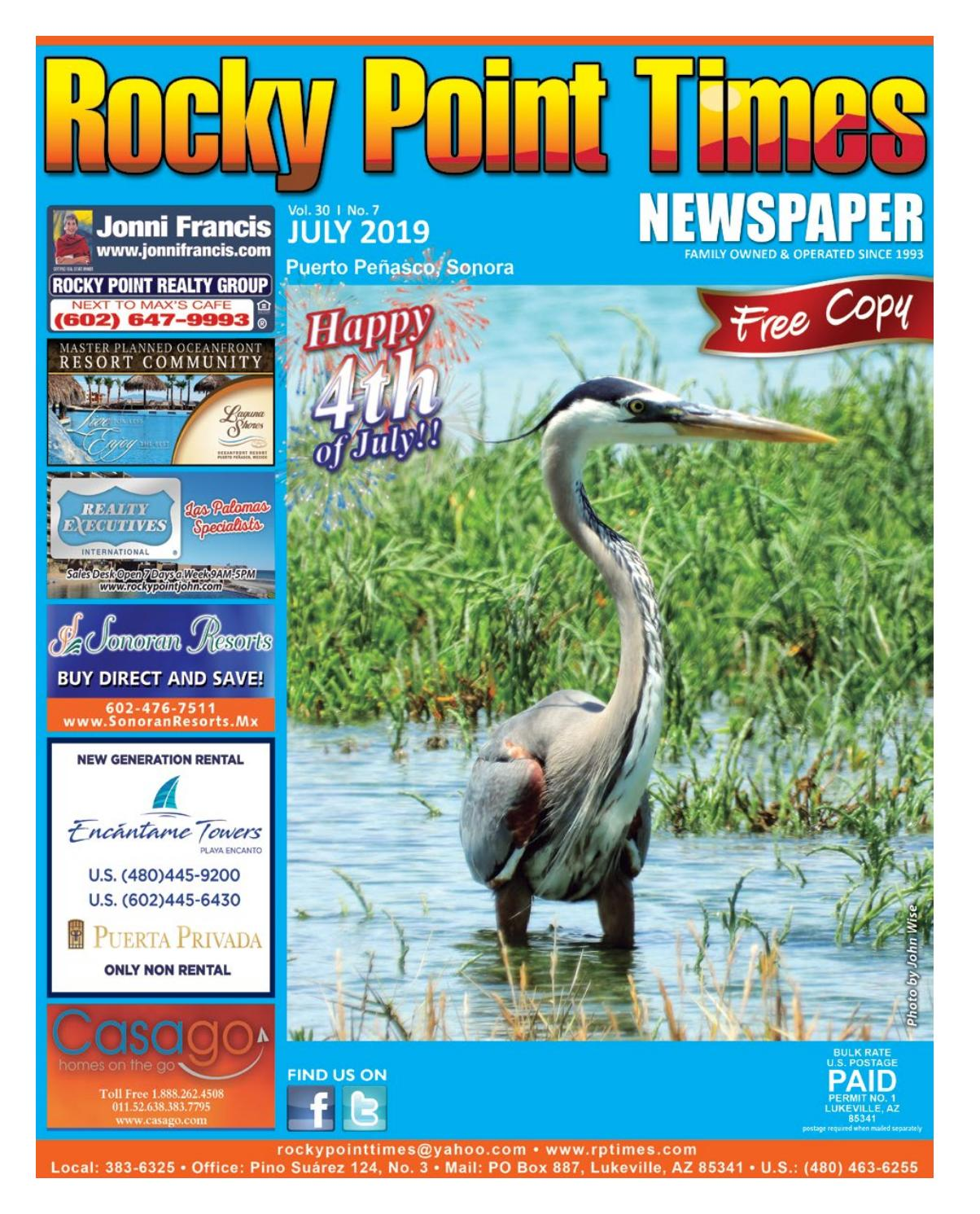 Rocky Point Times July 2019 by Rocky Point Services - issuu