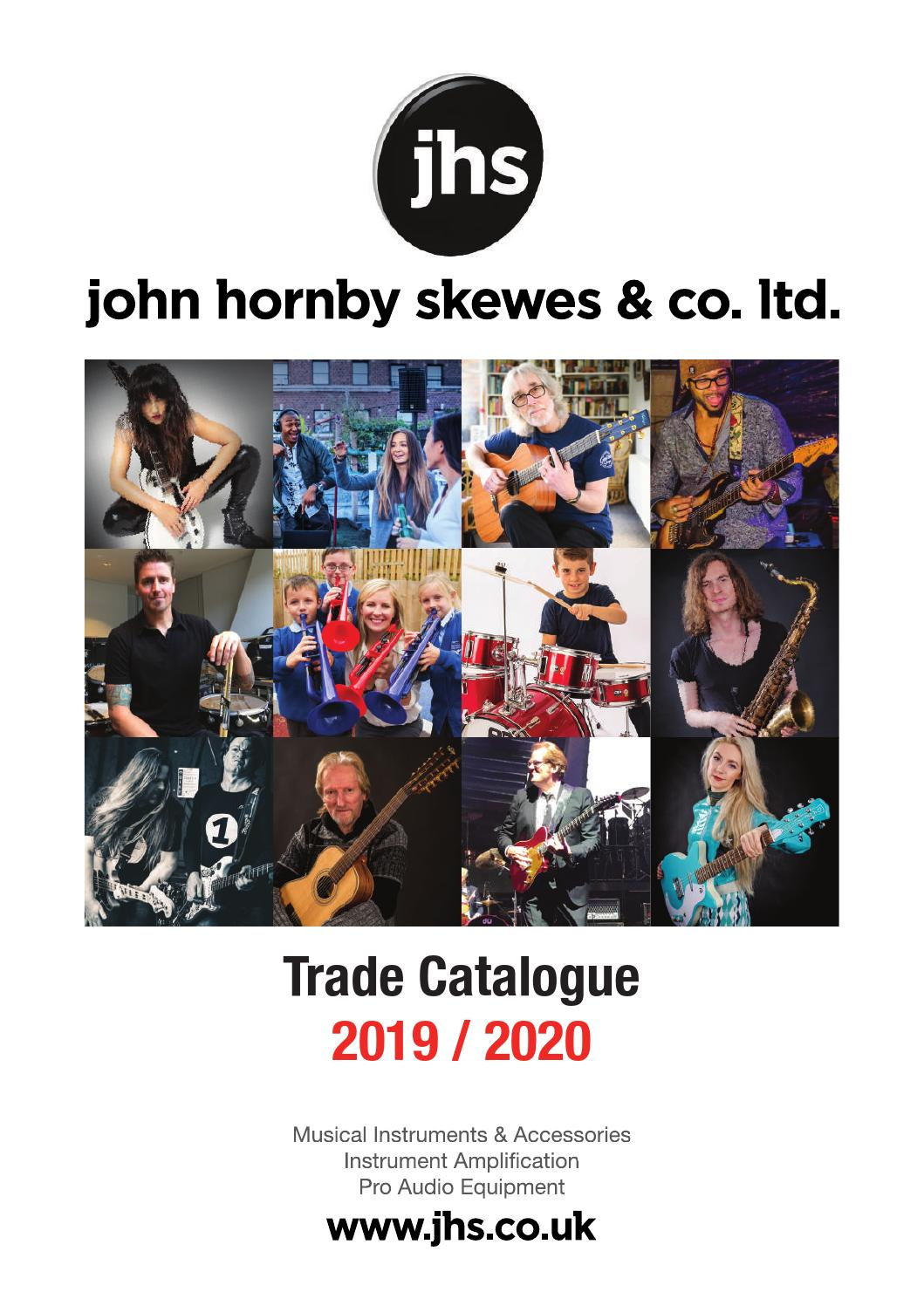 JHS Trade Catalogue 2019-2020 by John Hornby Skewes & Co