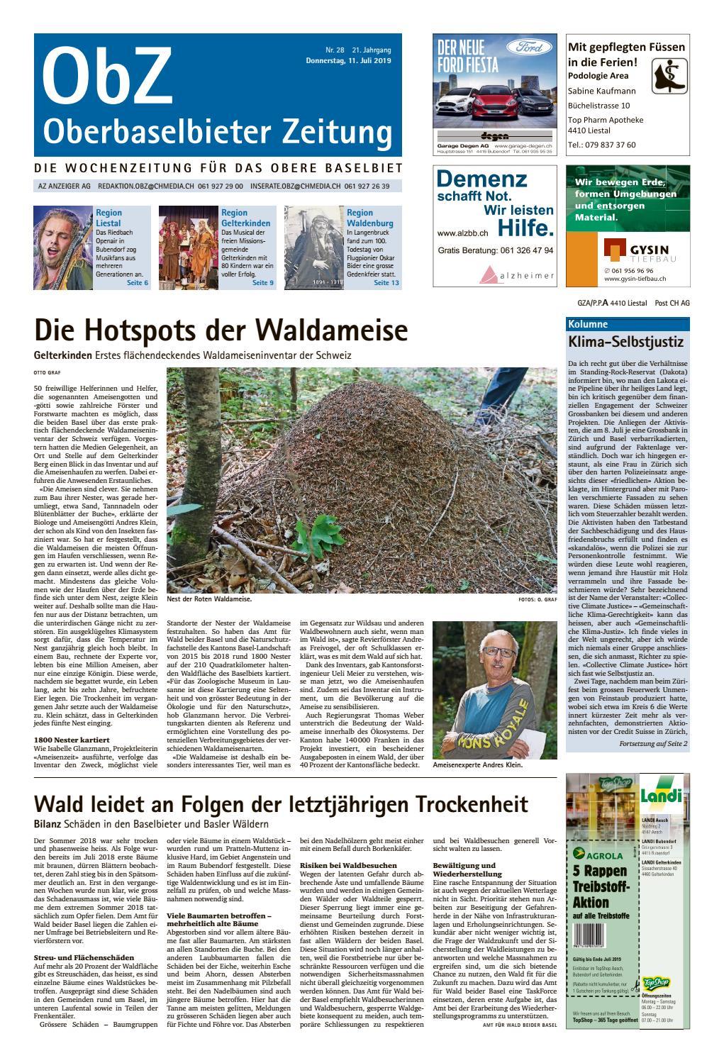 Aus Gemeinderat und Verwaltung - Gemeinde Frenkendorf