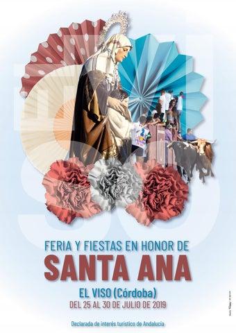 23483aeaf Revista Feria Santa Ana 2019 El Viso by Imprenta Pedro Díaz - issuu