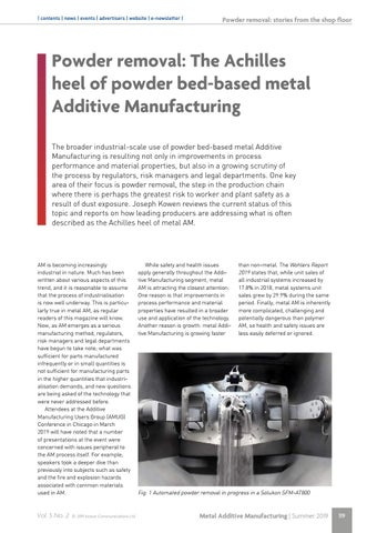 Page 119 of Powder removal: The Achilles heel of powder bed-based metal Additive Manufacturing