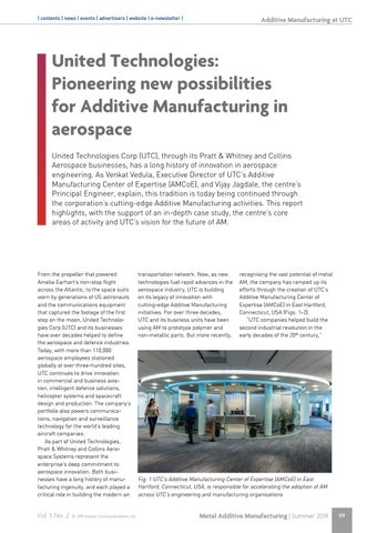 Page 99 of United Technologies: Pioneering new possibilities for Additive Manufacturing in aerospace