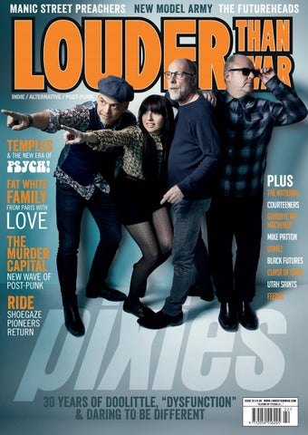 Louder Than War Issue 22 – Pixies by Big Cheese Publishing