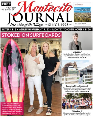Stoked on Surfboards by Montecito Journal - issuu