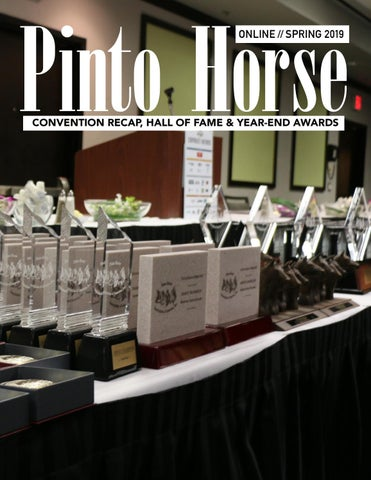 2019 April - PtHA® Online Magazine by Pinto Horse Association of
