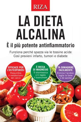 esempio di una dieta alcalina