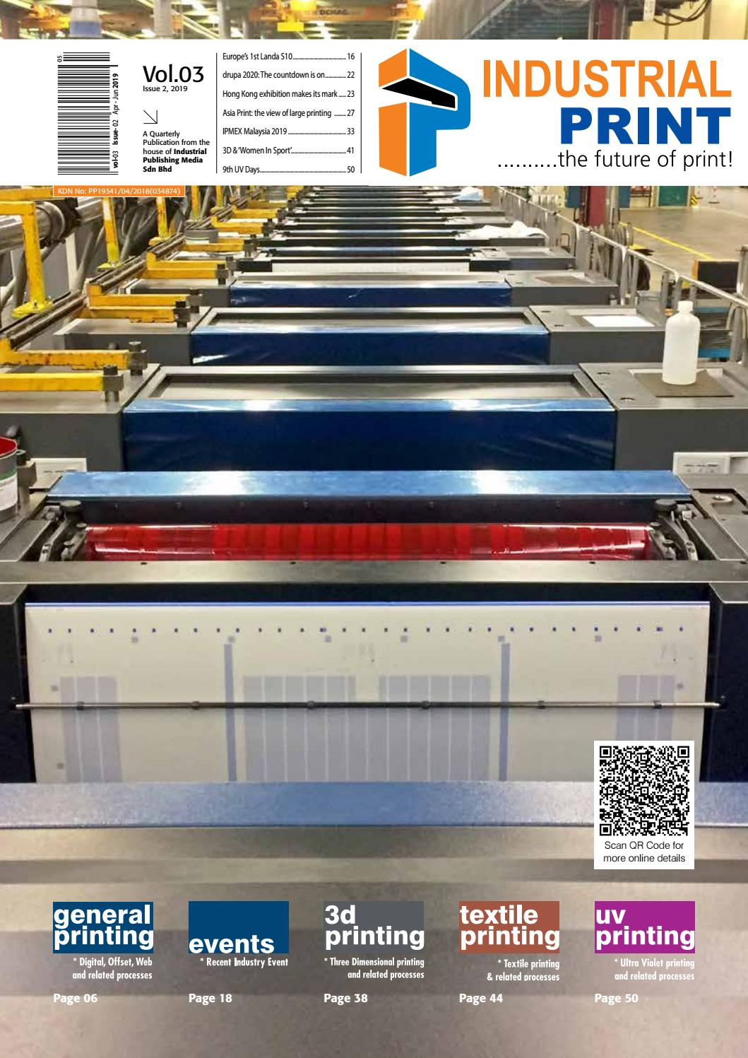 Industrial Print Magazine Apr-Jun 2019 issue by Industrial