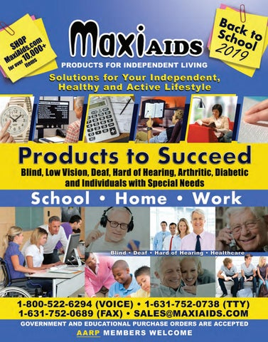 Maxiaids Back to School 2019