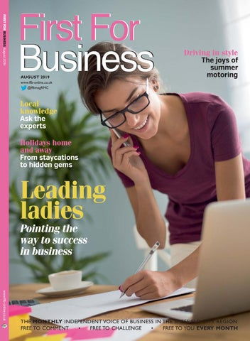 First For Business August 2019 By Rmc Media Issuu