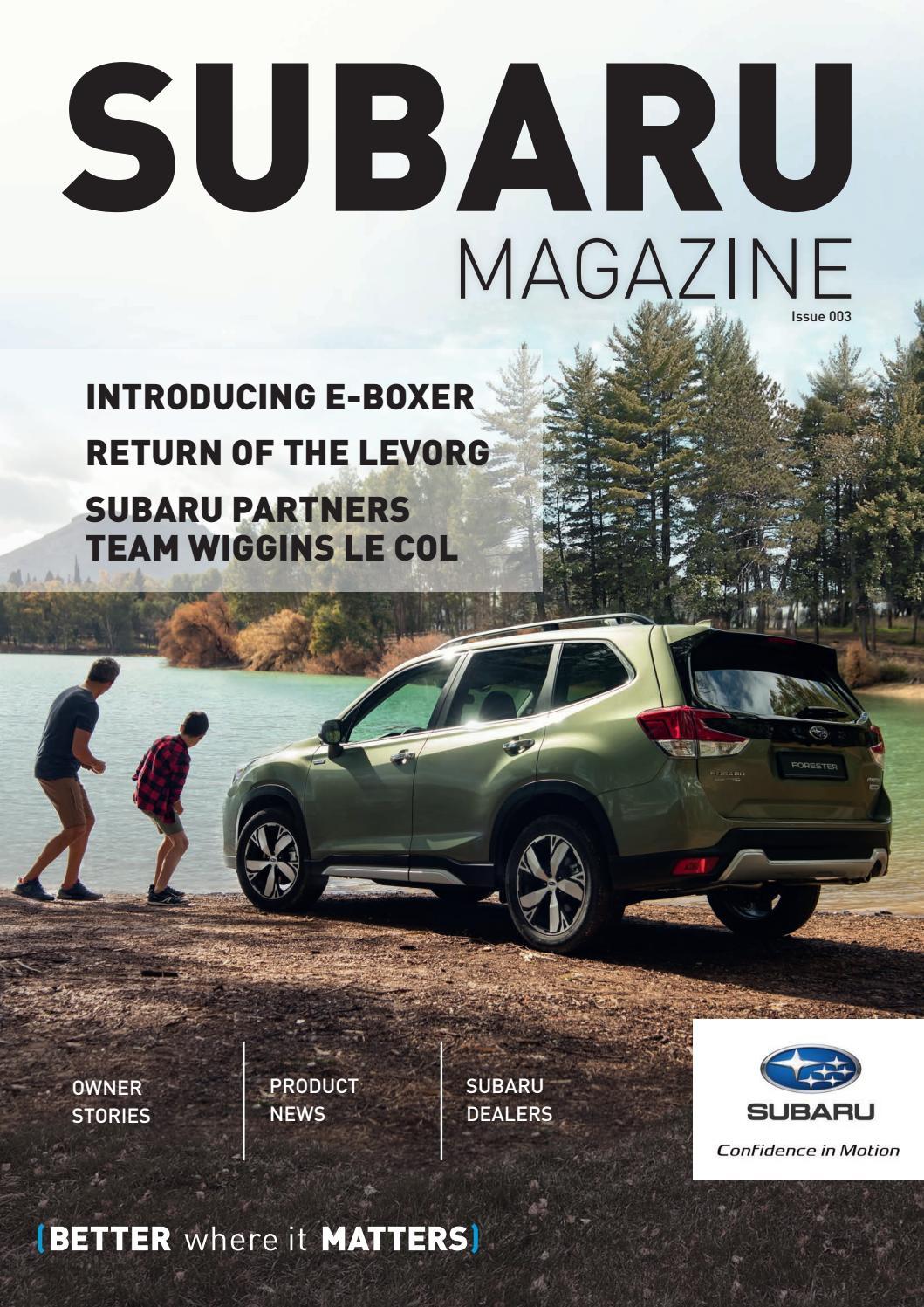 Subaru Magazine Issue 3, Summer 2019 by Subaru Magazine - issuu