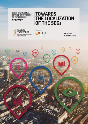 Towards the localization of the SDGs - 3rd Local and Regional