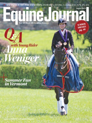 Equine Journal August 2019 by Cowboy Publishing Group - issuu