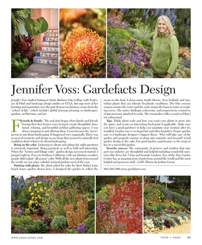 Page 67 of Jennifer Voss: Gardefacts Design