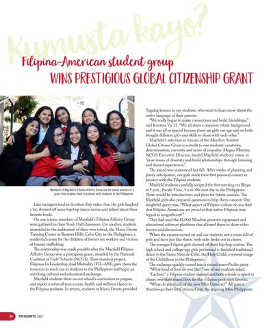 Page 24 of Filipina-American student group wins prestigious global citizenship grant