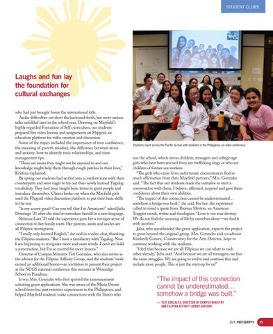 Page 25 of Filipina-American student group wins prestigious global citizenship grant