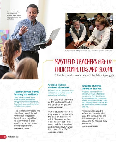 Page 28 of Mayfield teachers fire up their computers and become students of technology
