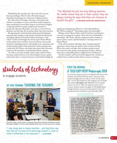 Page 29 of Mayfield teachers fire up their computers and become students of technology