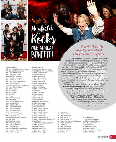 Page 51 of Mayfield Rocks our Annual Benefit!