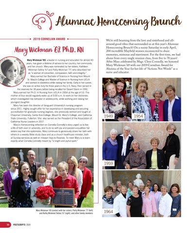 Page 54 of Alumnae Homecoming Brunch 2019