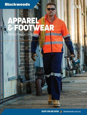 f8f9e5c964b AU72203 2018 \Apparel Footwear Safety Cataogue by Blackwoods - issuu