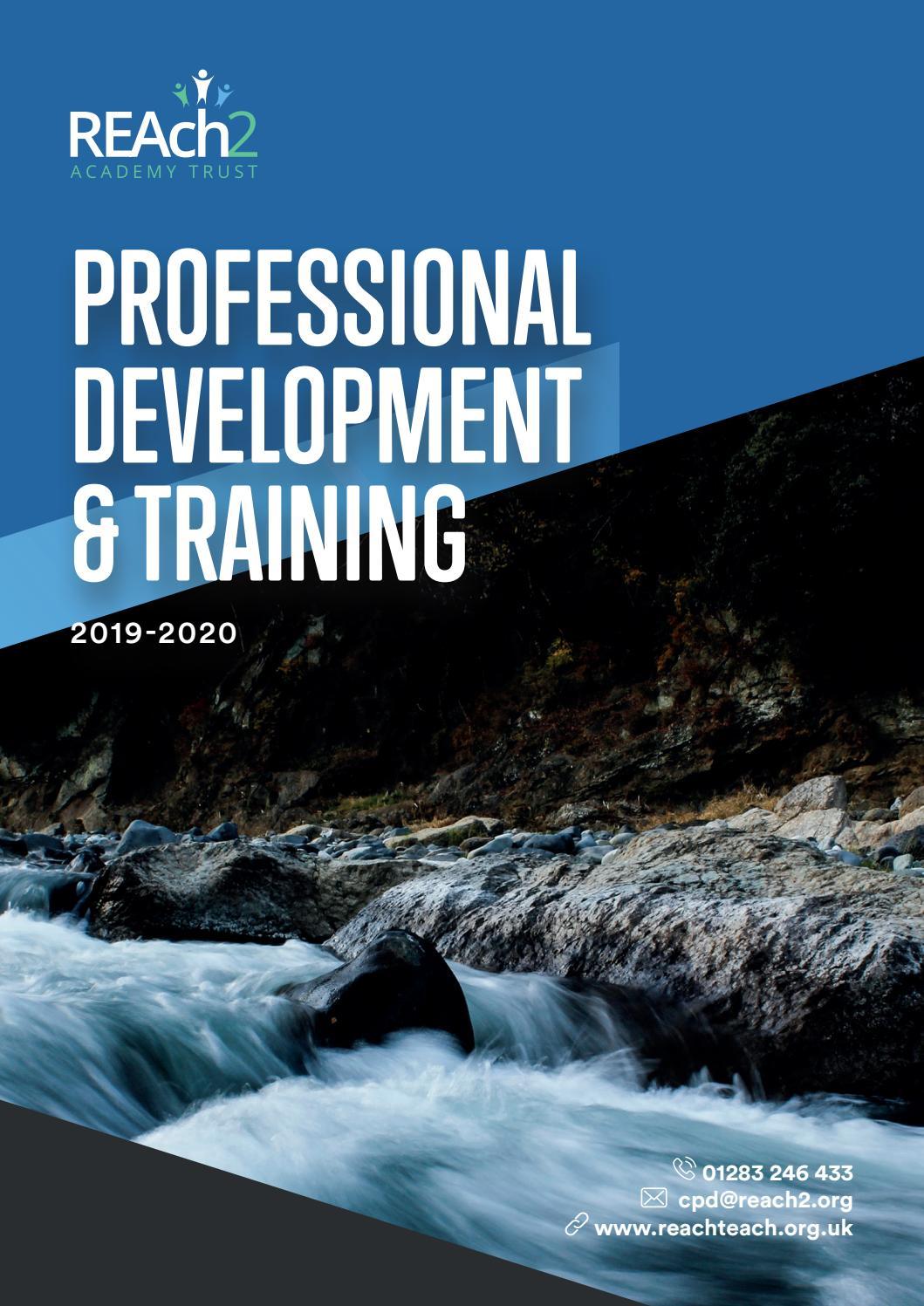Reach2 Academy Trust >> Reach2 Cpd Brochure 2019 By Reach2 Academy Trust Issuu