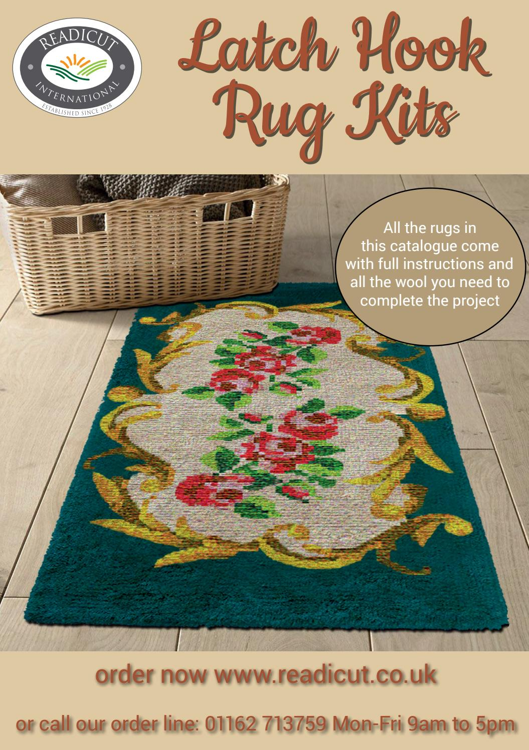 Readicut Latch Hook Rug Kits 2019 By